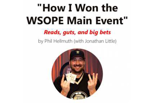 Learning from Phil Hellmuth Jr.