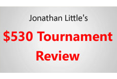 Jonathan Little's $530 Review