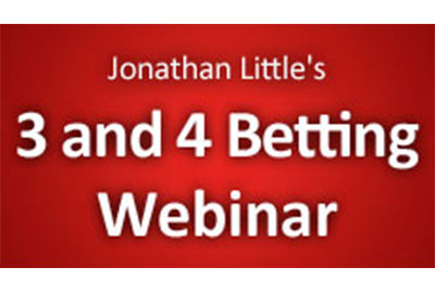 3 and 4 Betting Webinar