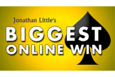 Jonathan Little's Biggest Online Win