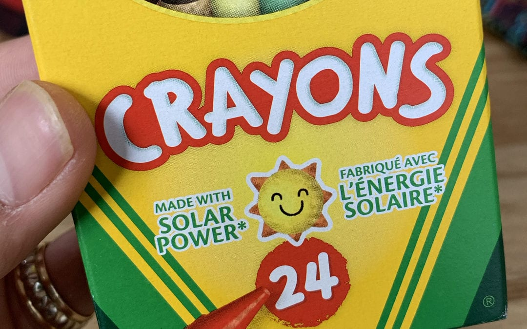 Back To School Reminder: Billions Of Crayons Are Made Annually With The Help Of The Sun