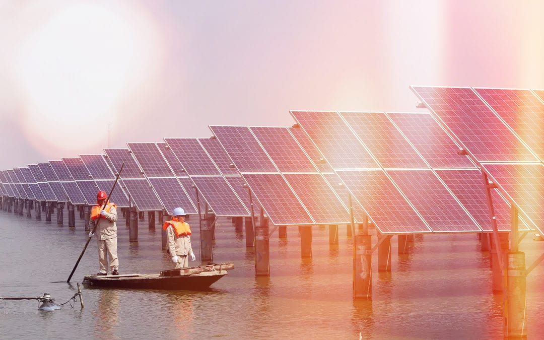 No Space, No Problem: Floating Solar Farms Offer A Viable Option