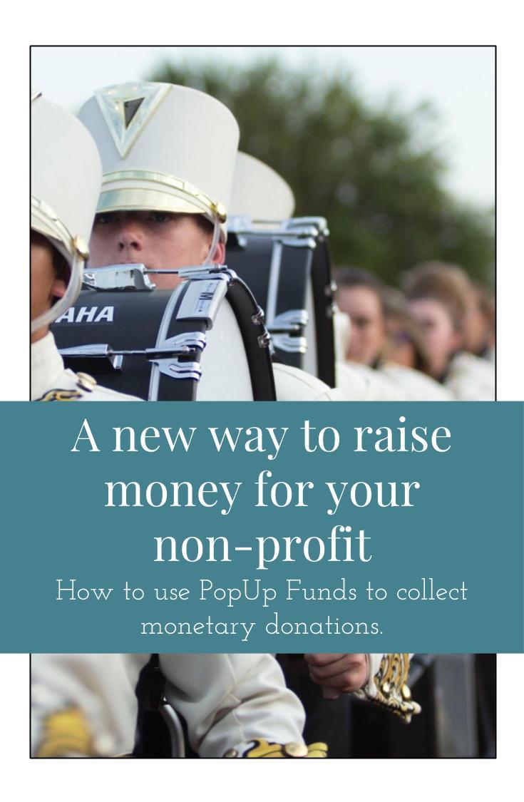 Raise money online for your non-profit