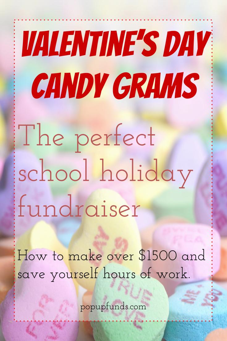 PopUp Funds Valentine's Candy Gram