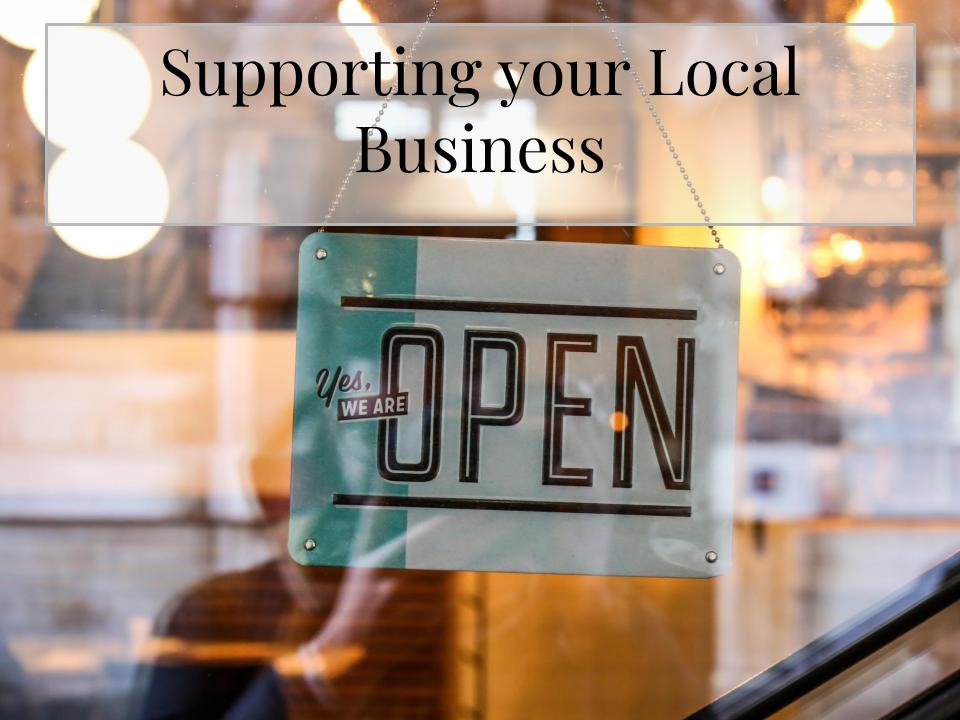 Support Local Business | PopUp Funds | Online Sales