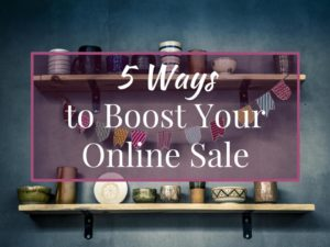 boost your online sale