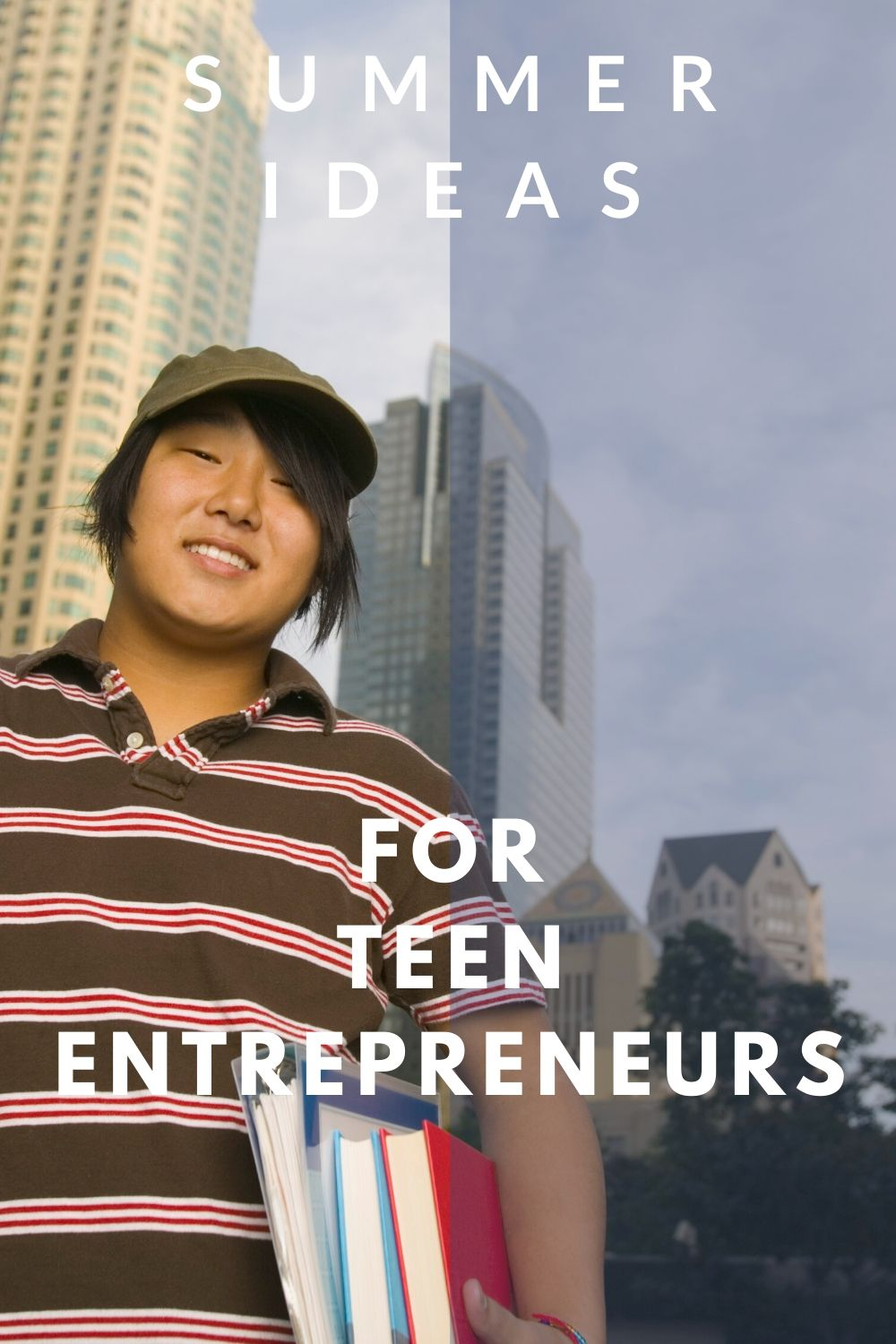 help your teen raise money