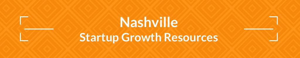 Nashville Tech Startup Community Resources - header graphic
