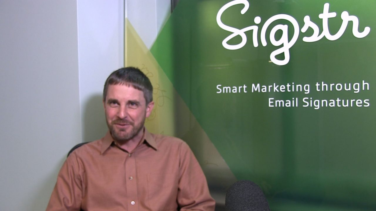 Dan Hanrahan, Founder and President of Sigstr