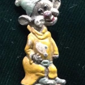 1938-walt-disney-snow-white-dopey-enameled-pewter-pin