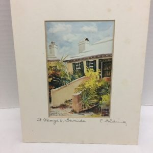 st-georges-bermuda-watercolor-print-signed-carol-holding-historical-society-vtg