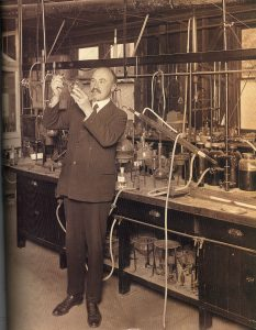 "The life and career of Belgian-American chemist Leo H. Baekeland, the ""Father of Modern Plastic,"" is celebrated in All Things Bakelite. Credit: The L.H. Baekeland Project, LLC"