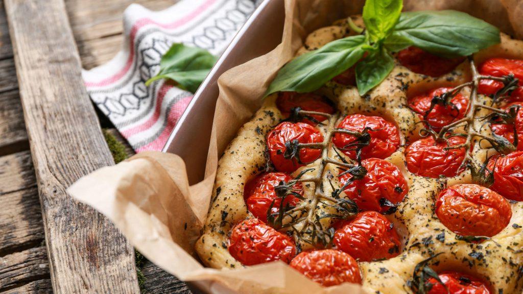 Italian Baking: Focaccia
