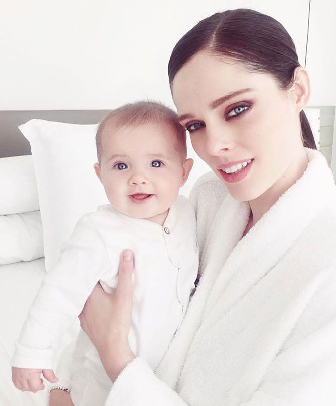 Coco Rocha with Baby Girl Ioni