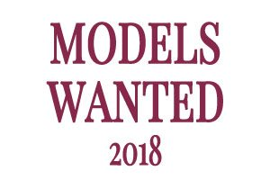 Models Wanted For 2018 Season