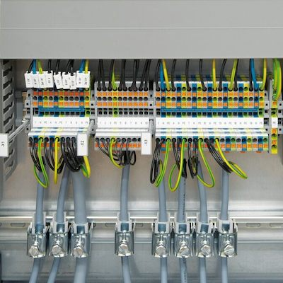 control wiring terminations