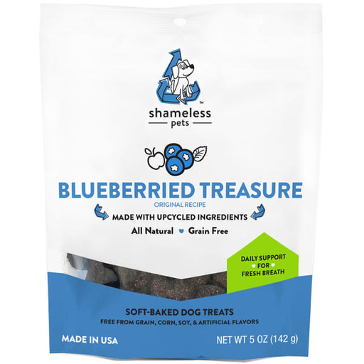 Shameless Pets Blueberried Treasure Upcycled Dog Treats