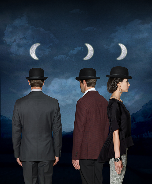 3 moons Magritte M Penner Photo