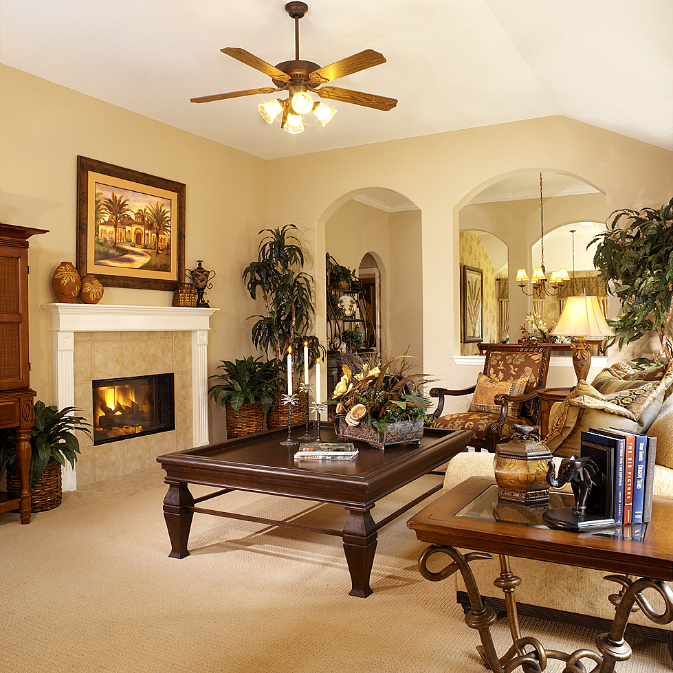 Richmond Homes Living Room Interior Photo
