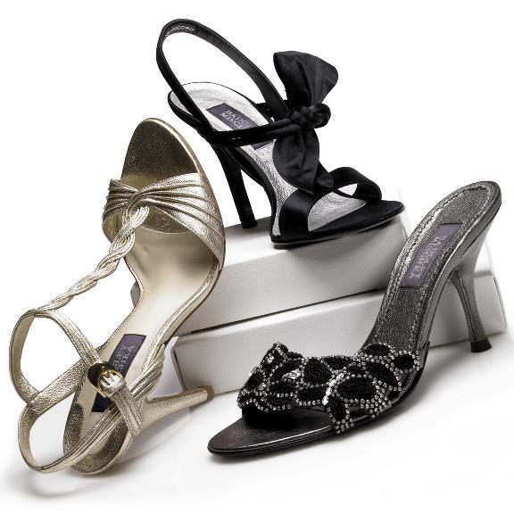 Tootsies Shoe Black Sandals