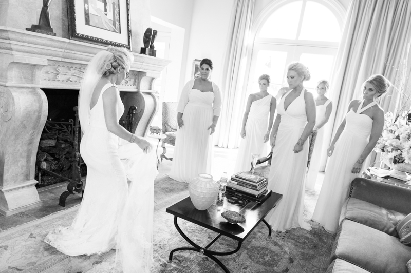 Odessa Wedding Photography of Bridal Party