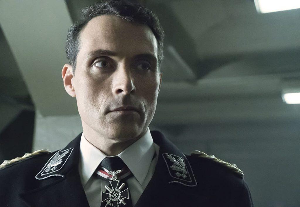 Rufus Sewell na primeira temporada de The Man in the High Castle (Amazon Prime Video)
