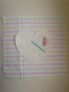 Pink hand embroidered love cushion (2)