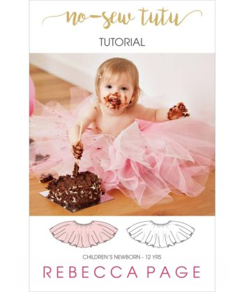 This No Sew Tutu Tutorial is fast, easy and looks amazing finished. Sizes newborn to 12 years. A great project for kids as well as adults.