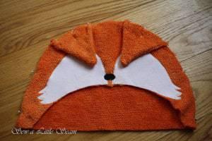 Hooded Fox Towel Tutorial & Free Pattern