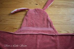 Hooded Towel Tutorial and Pattern