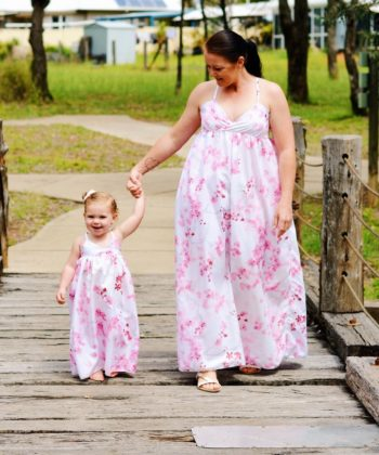 This great value maxi dress pattern bundle includes the ladies' and children's sizes of the Monte Carlo Maxi dress patterns.