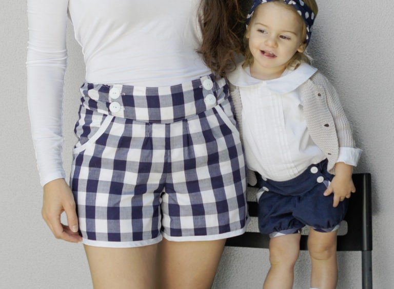 The Berry Bubble Shorts bundle includes the beautifully-finished bubble shorts sewing pattern in three sizes! These shorts are an heirlom quality sew!
