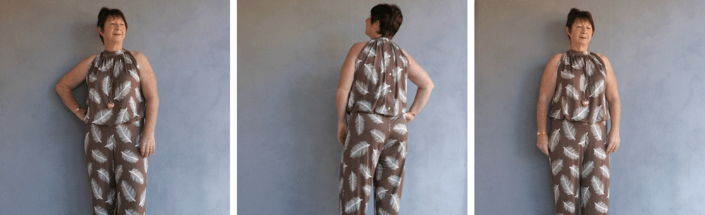 Make this lovely romper by mashing two tried and tested Rebecca Page patterns! The Emma and the Cerena hacked into one gorgeous Ceremma romper is love!