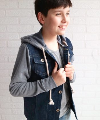 This is an ADD-ON selection of sewing pattern extras for the Kingston. There are so many gorgeous options with these denim jacket extras!
