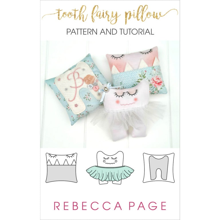 Losing a first tooth can be scary but this adorable tooth fairy pillow pattern makes it an exciting and memorable milestone - for kidlets and parents alike!