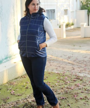 Riley Vest Sewing Pattern - Rebecca Page