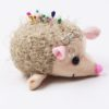 This Hedgehog Pin Cushion Keyring is darling and convenient, as you can hang it or take it with you. Really adorable!