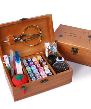 This beautiful solid wood gift boxed sewing kit is a beautiful investment piece or gift for any sewista! A wonderful gift for someone else or yourself.