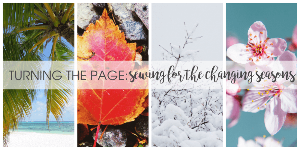Sewing for the changing seasons blog tour