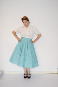 "The beautiful Bertty vintage circle skirt sewing pattern is exactly what ""vintage"" means: high quality and lasting value!"
