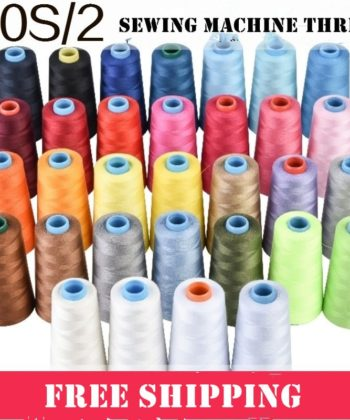 4x 3000m Spool Sets of Polyester Thread. These sets of 4 Pc Set of Sewing Machine & Serger/Overlocker Thread Spools with 3000m per spool of thread can ensure that you are always ready to sew up your next project.