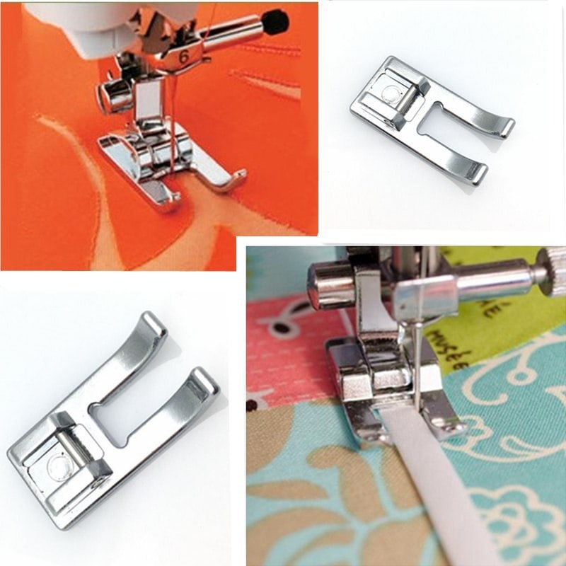 Open Toe Craft Applique Metal Foot Fits SINGER SEWING MACHINES