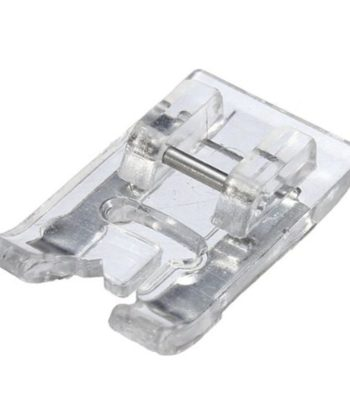 Plastic Satin Stitch Presser Foot for Low Shank Sewing Machines.  A great sewing basic for any and every sewista