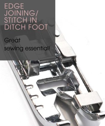 Edge Joining / Stitch in Ditch Foot