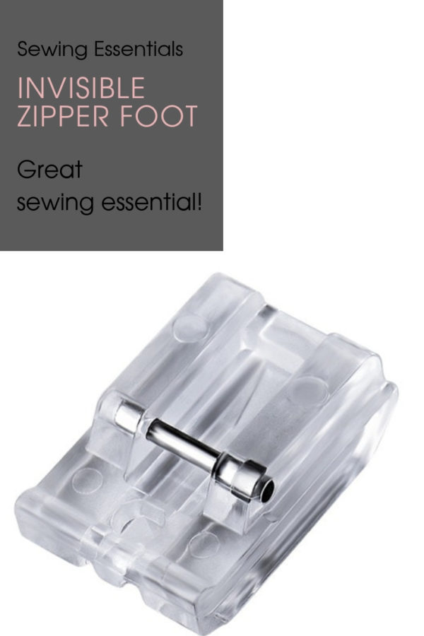 Invisible Zipper Foot