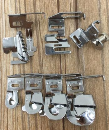 Various Rolled Hem Presser Feet and Set for Low Shank Sewing Machines. A great sewing basic for any and every sewista