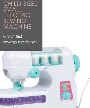 Child-Sized Small Electric Sewing Machine