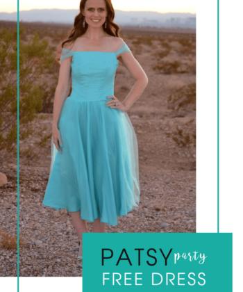 Patsy Party Dress Sewing Pattern