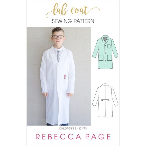 When a real-life scientist gives this lab coat sewing pattern the thumbs up, you know you're adding serious epicness to the kidlets' dress up collection!