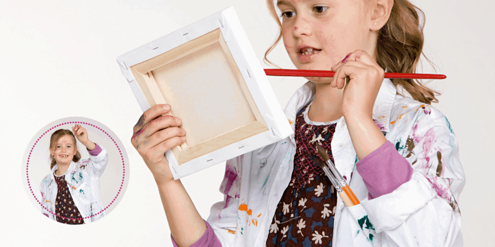 This lab coat is magical; it is the perfect addition to every budding artist's collection of supplies.